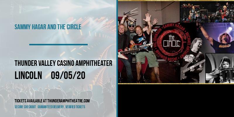 Sammy Hagar and The Circle at Thunder Valley Casino Amphitheater